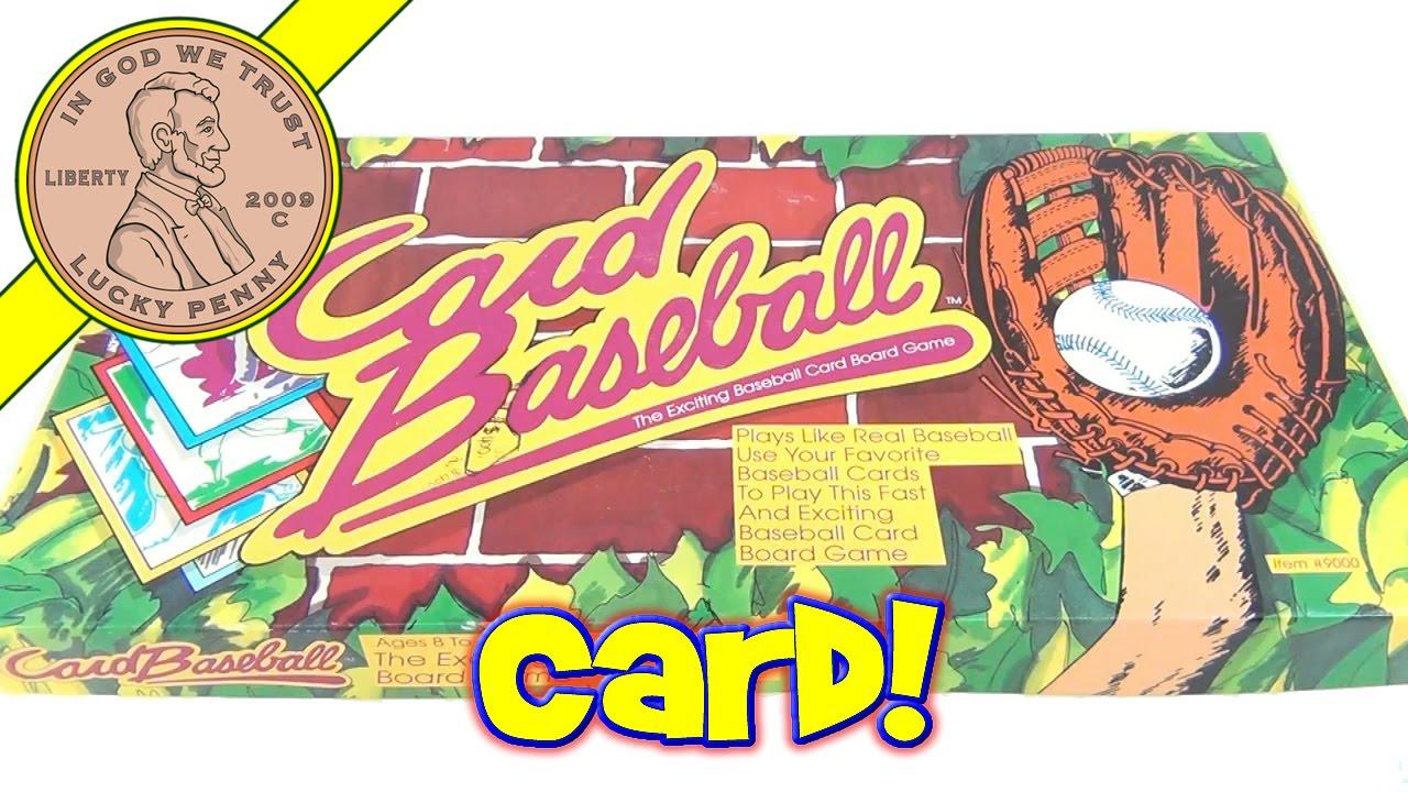 Card Baseball 9000 1991 Mcque Games The Exciting Baseball Card Board Game