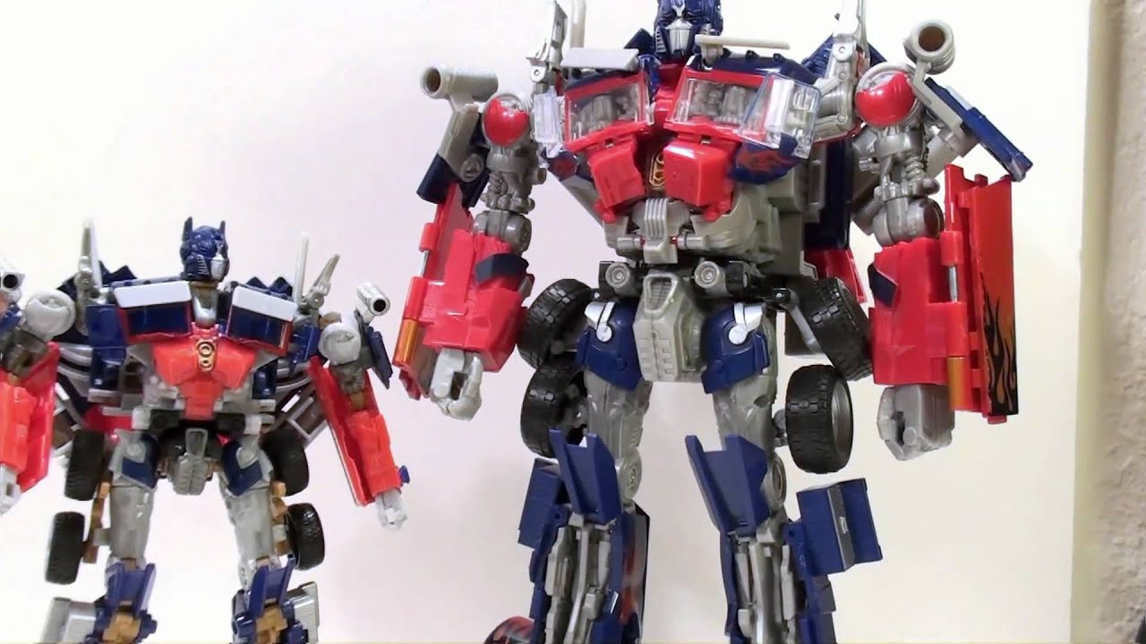 Review 3a threea transformers optimus prime dark of the moon dotm - Video Review Of The Transformers Hunt For The Decepticons Battle Blades Optimus Prime Youtube