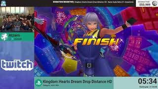 Kingdom Hearts Dream Drop Distance HD (NG+) by Atzero (RPG Limit Break 2018 Part 23)