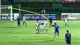 10 Gol Tendangan Bebas Super Yang Ada Di Liga Indonesia