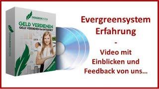 Evergreensystem Erfahrung und Einblicke in unsere Einnahmen