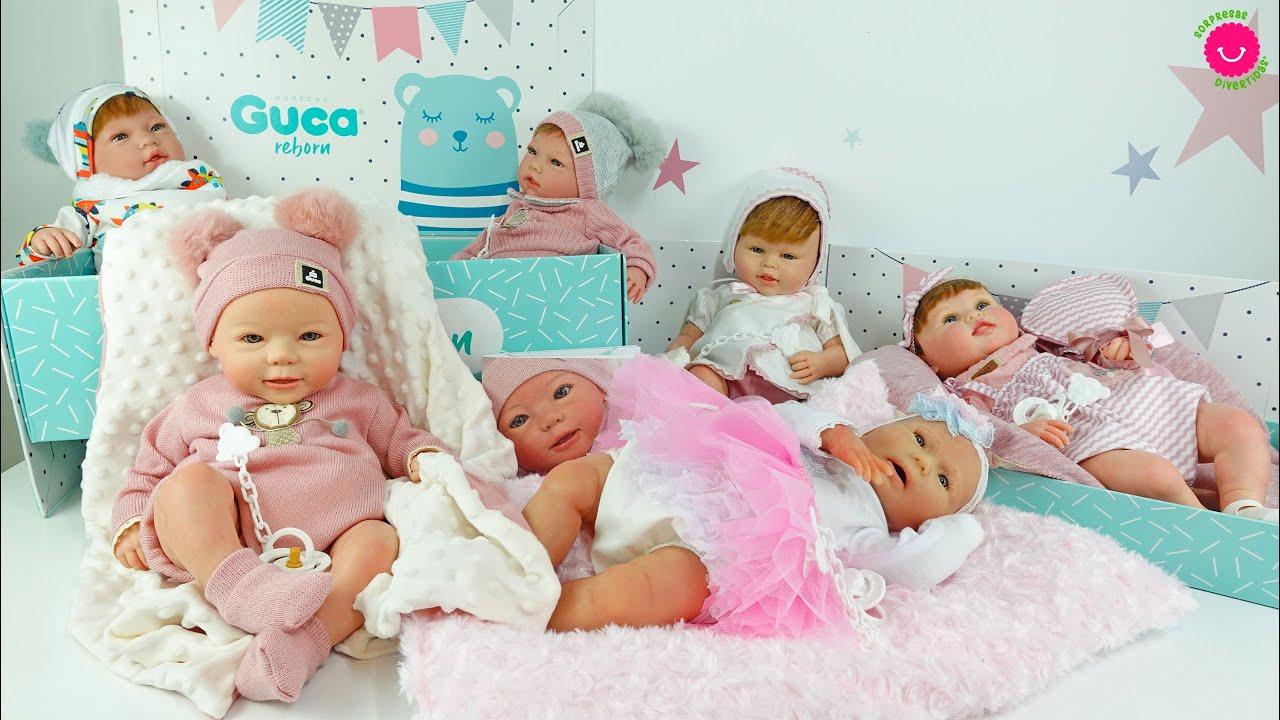 Los NUEVOS Bebés REBORN de Sorpresas Divertidas ¿Cuál te gusta más?