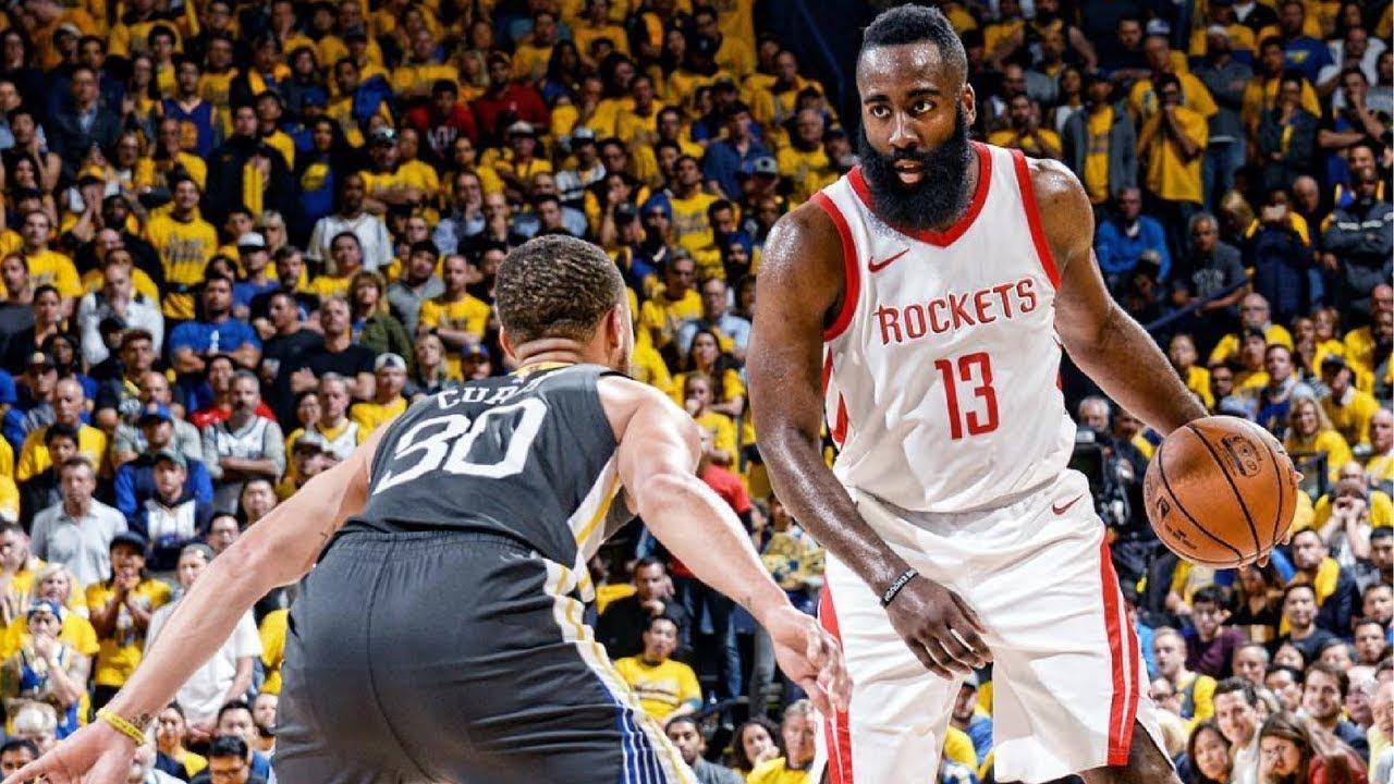 dd389f682bb Warriors vs Rockets Game 4 NBA PLAYOFFS 2018 - YouTube