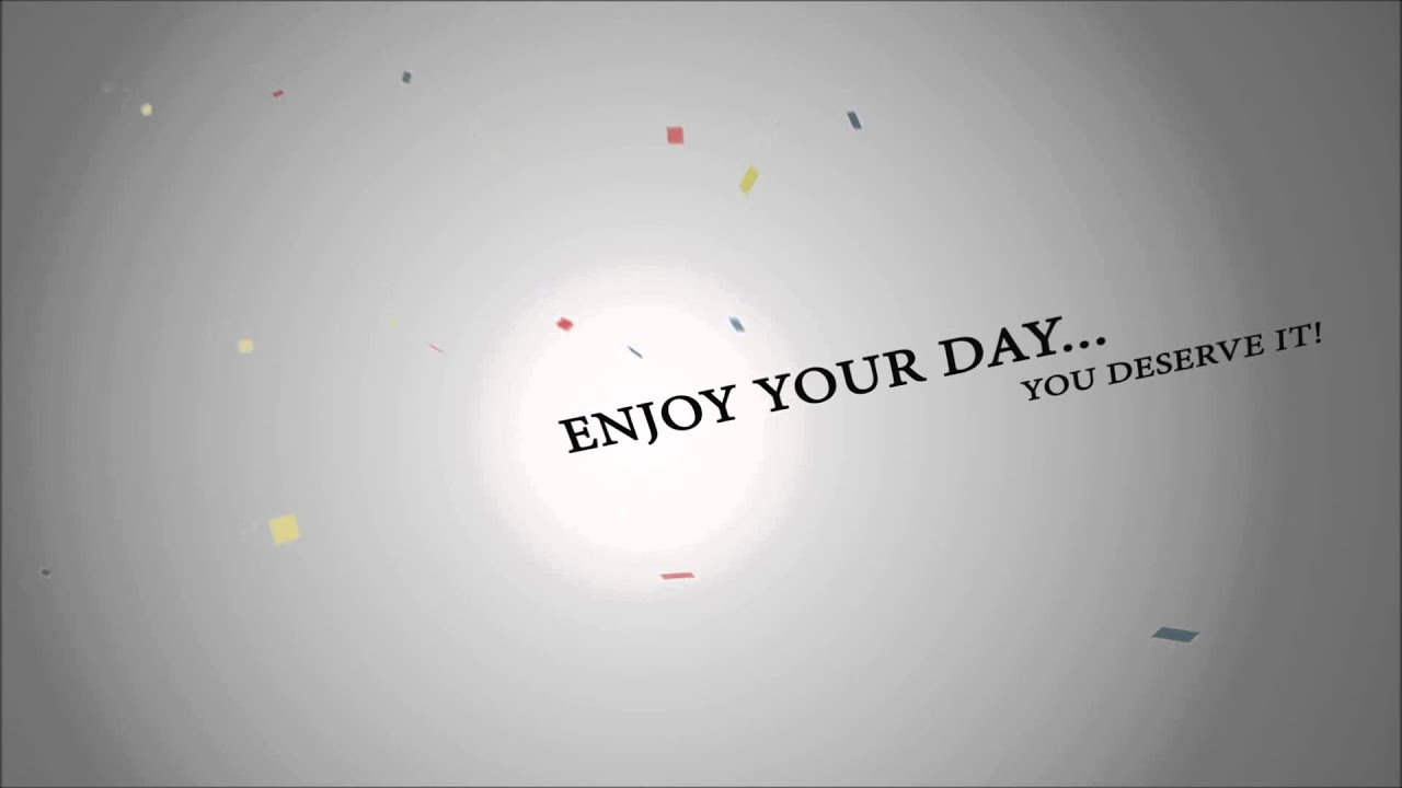 Adobe After Effect Free Birthday - YouTube