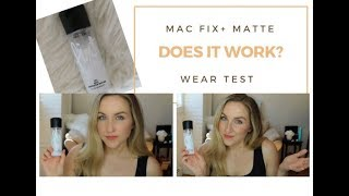 MAC Fix + Matte | Test and Review | DOES IT WORK?????