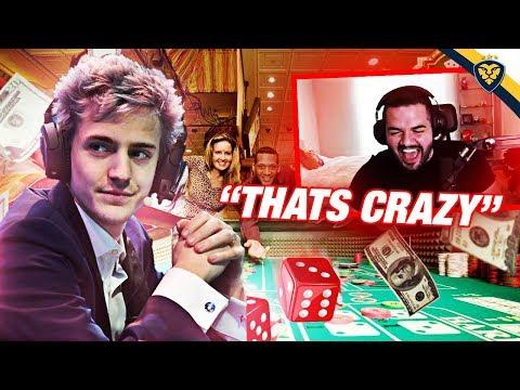 NINJAS INSANE GAMBLING STORY! AFTER DARK FORTNITE! (Fortnite: Battle Royale)