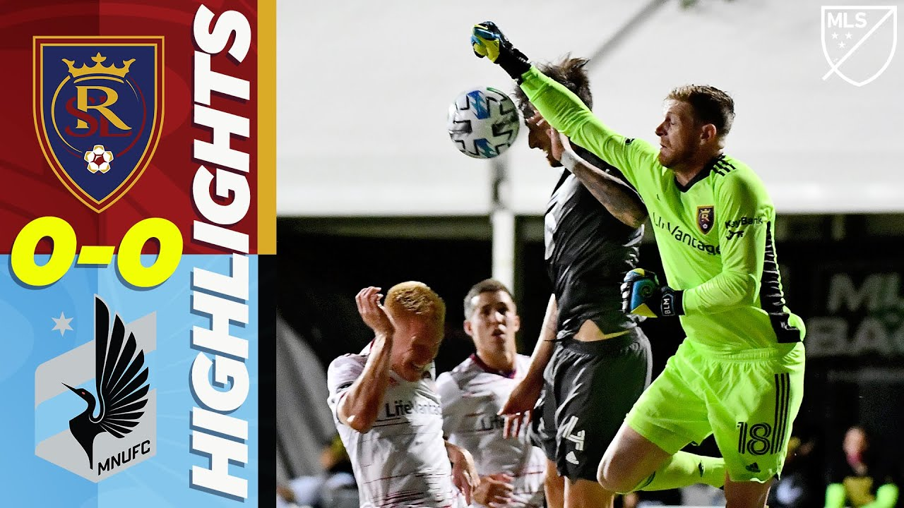 Real Salt Lake 0-0 Minnesota United FC | Great Saves by MacMath and Miller | MLS HIGHLIGHTS