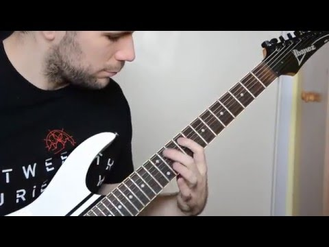 All Shall Perish - Black Gold Reign [GUITAR COVER]