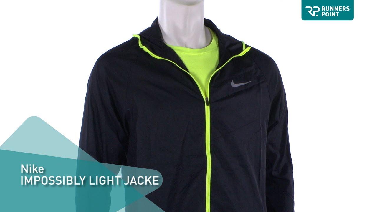 Nike herren jacke impossibly light
