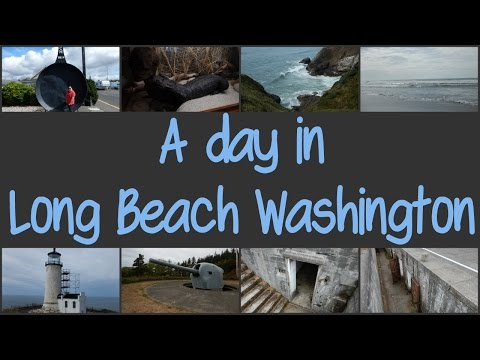 A Day In Long Beach Washington