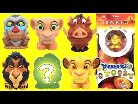 Nat & Essie Open The Lion King Mashems Squishy Surprise