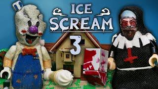 LEGO Мультфильм Мороженщик 3 - Horror Game Ice Scream 3