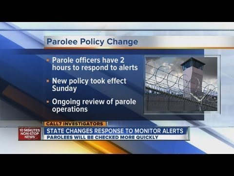 DOC requires tighter parole monitoring