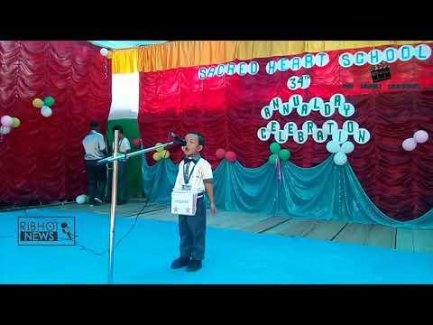 "Ri Bhoi NEWS ""Rakhe ka Scared Heart School ia ka Annual Programme 2018 """