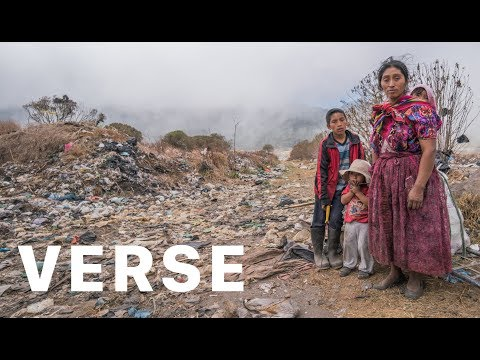 How this family survives on a plastic trash dump hidden below a volcano in Guatemala.