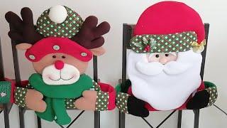 Cubresillas De Papa Noel