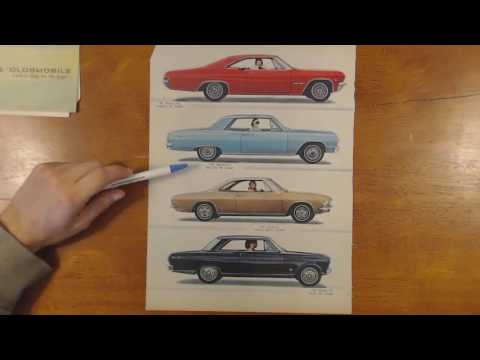 Looking at car advertisements, 1960-1969