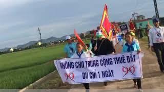 Nghệ An: Giáo dân xứ Mỹ Khánh, Rú Đất biểu tình chống Luật Đặc khu