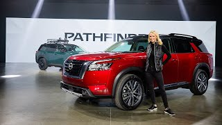 homepage tile video photo for 2022 Nissan Pathfinder LIVE Walkaround & Review