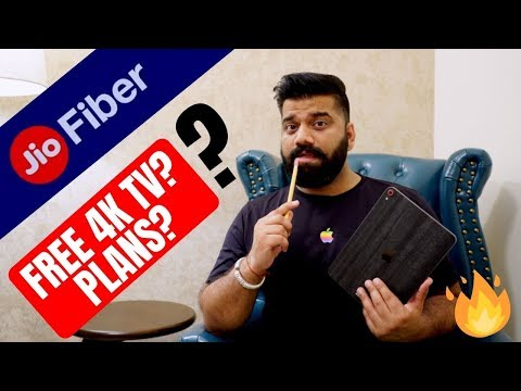 Jio Fiber Plans - Free 4K TV - Monthly FUP? My Opinions🔥🔥🔥