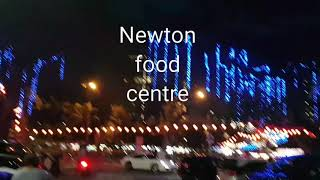 Dinner at Newton food centre in Singapore