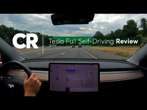 Tesla Full Self-Driving Review | Consumer Reports