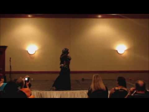 Plus Size Belly Dancers 2014 Event Yasaman M.A.D Fusion Goth Solo thumbnail
