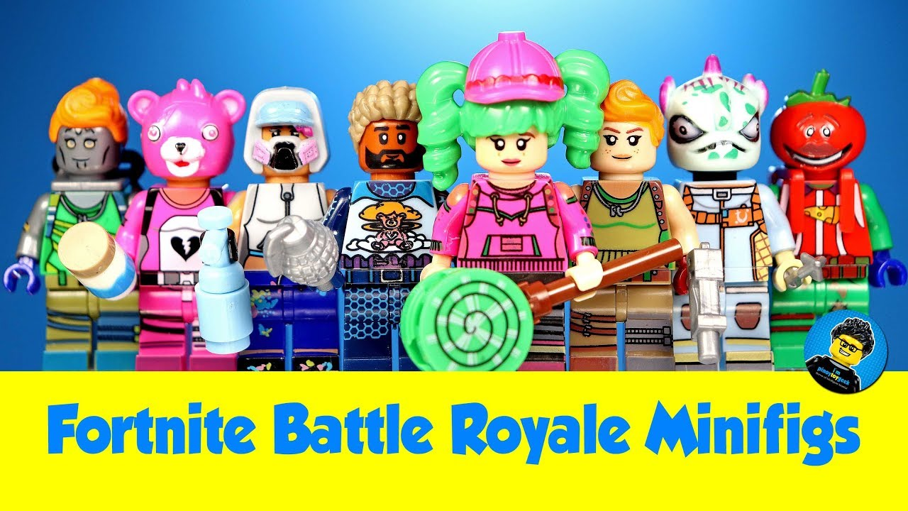 Lego Fortnite Battle Royale Unofficial Minifigures W Tomatohead Zoey Teknique Default Skin Youtube Battle royale game mode by epic games. lego fortnite battle royale unofficial minifigures w tomatohead zoey teknique default skin