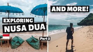 Gambar cover Exploring NUSA DUA BEACHES and MORE! | Hunting BEST Bali Beaches day 2!