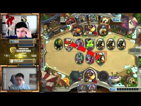 Dog vs Trump - Group C Losers Match - Hearthstone Champions League