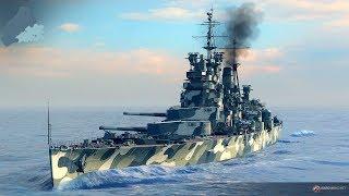 КРАСИВЕЙШАЯ ИГРА ПРО КОРАБЛИ ВТОРОЙ МИРОВОЙ ! Линкоры и Эсминцы в World of Warships