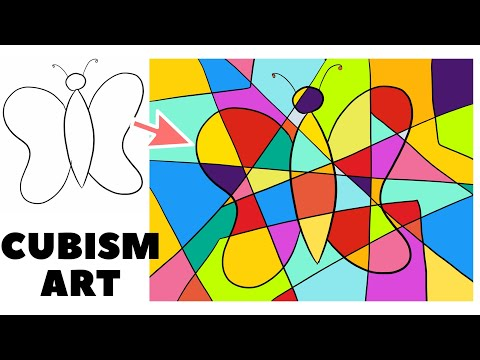 Learn Cubism Art Easy Step By Step Tutorial Cubism Art