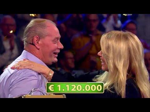 Krijn wint ruim een miljoen bij Linda de Mol  POSTCODE LOTERIJ MILJOENENJACHT