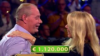 Krijn wint ruim een miljoen bij Linda de Mol - POSTCODE LOTERIJ MILJOENENJACHT