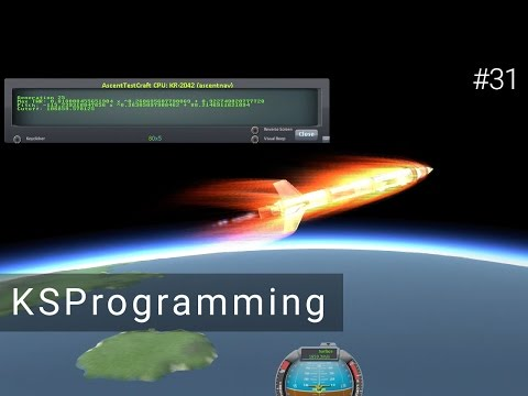 Kerbal Space Programming #31- Launching with AI!
