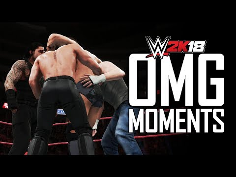 WWE 2K18 ALL OMG MOMENTS! (PS4 PRO) thumbnail