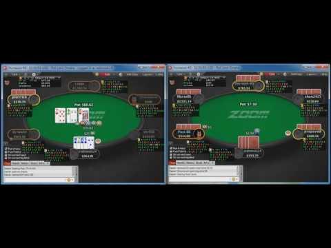 High Stakes Poker Coaching - Pokerstars Pot Limit Omaha Zoom Part 1