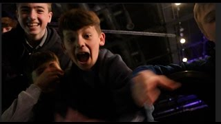 'GIVE OUR TICKETS EDDIE HEARN LAD! -OR WE'LL SMASH YOUR HEAD IN' - LOCAL SCOUSE KIDS DEMAND TICKETS!