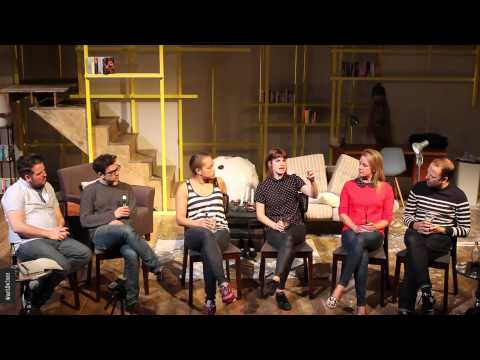 Q&A with cast of Breeders at St James Theatre