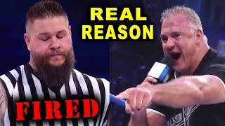 Real Reasons Why Kevin Owens Got FIRED by Shane McMahon on SmackDown