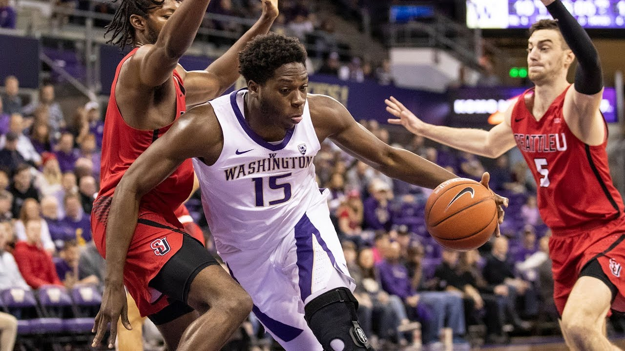 best service 78eba f1f40 Recap: Washington men's basketball hangs on to take down Seattle after  Redhawks nearly erase...