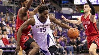 Recap: Washington men's basketball hangs on to take down Seattle after Redhawks nearly erase...