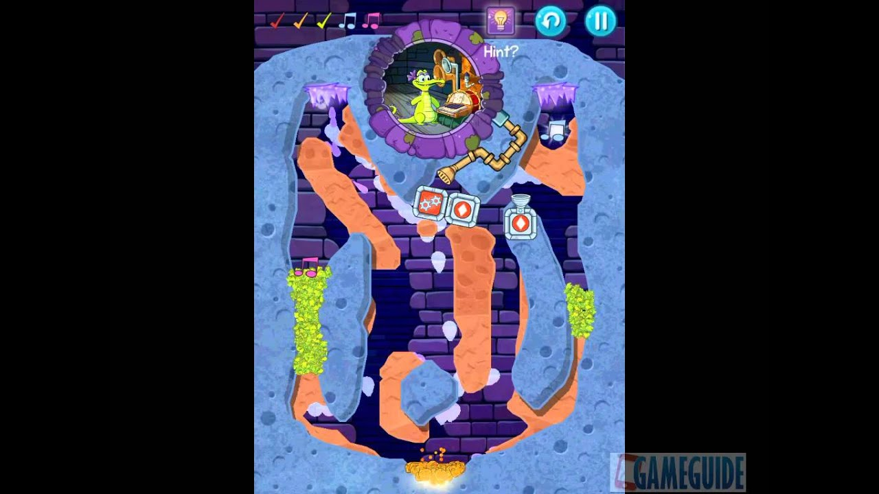Where's My Water? 2 Level 81: I C Purple (Allie, Melody ...