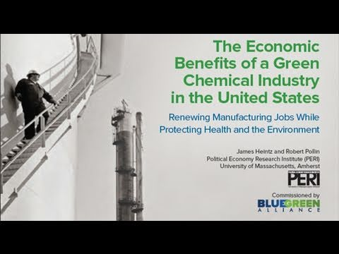 Study on Benefits of a Green Chemical Industry