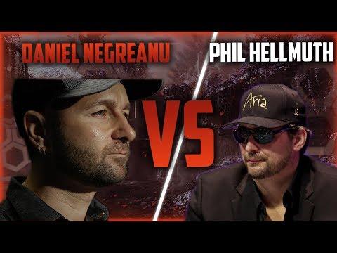 Ultimate Daniel Negreanu VS Phill Hellmuth Poker Compilation!