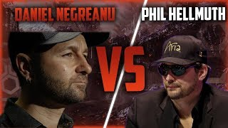Ultimate Daniel Negreanu VS Phill Hellmuth Poker Compilation!
