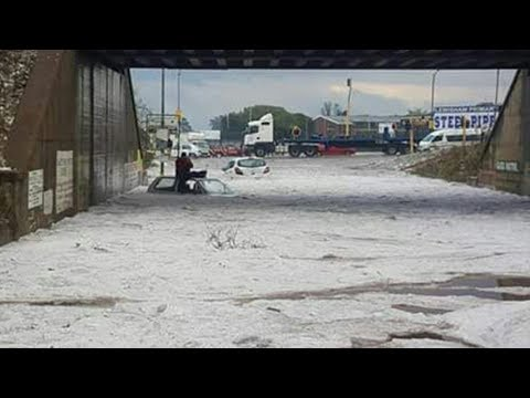 Deadly hailstorm tears through Johannesburg and surrounds