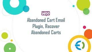 WooCommerce Abandoned Cart Email Reminder Plugin