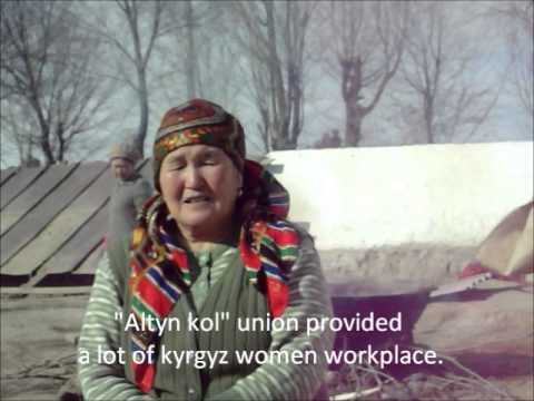 Gerez master Shyrdak Artist From Kyrgyzstan -- Subtitled