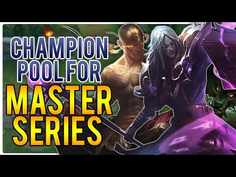 Champion Pool For Master Series | League of Legends ($1000RP Giveaway)